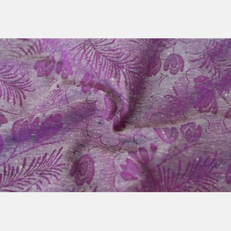 Yaro Campanula Purple Grey Tencel Viscose Confetti