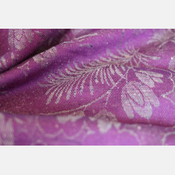 Yaro Campanula Purple Grey Tencel Viscose Confetti Ring Sling