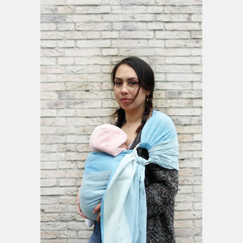 Yaro Newborn Blue Ring Sling