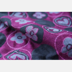 Yaro Bloomsbury Ultra Pink Grey