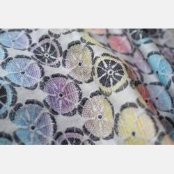 Yaro Lemons Duo Black Lights Rainbow Wool Ring Sling