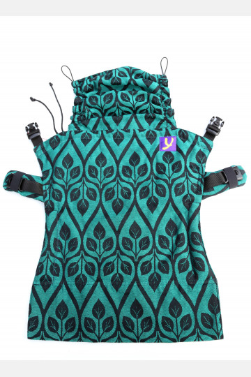 Yaro Flex Back Panel La Vita Emerald Black