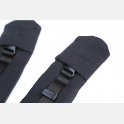 Yaro Flex Full Buckle Shoulder Straps Black