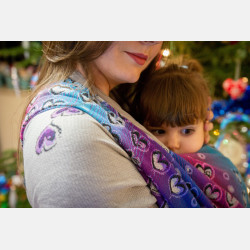 Yaro Heartrunes Ultra Grey Flash Rainbow Ring Sling