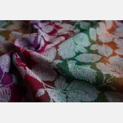 Yaro Birk Ultra Grey Autumn Rainbow Kapok Ring Sling