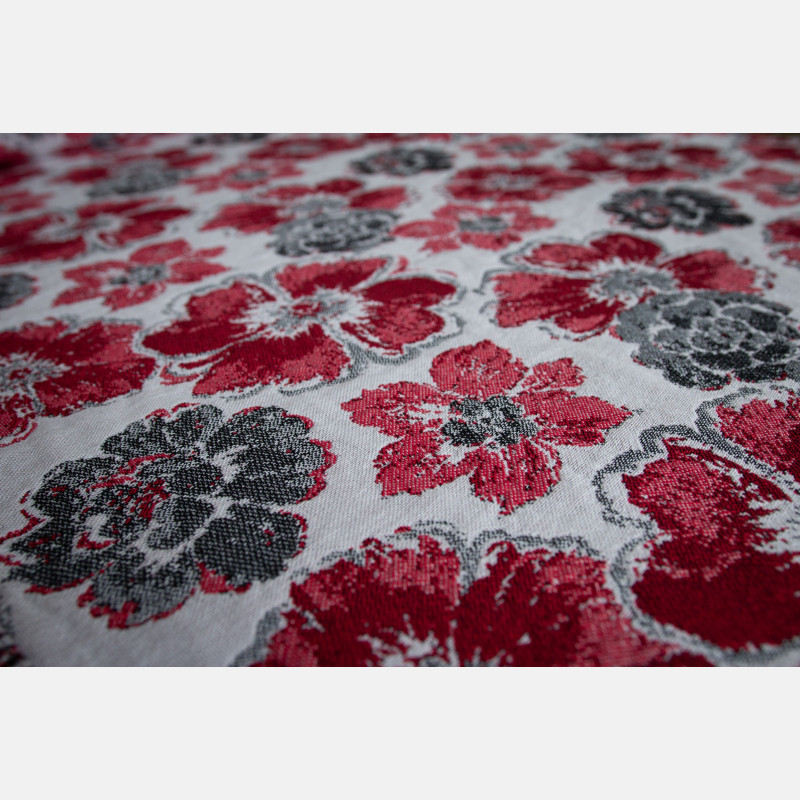 Yaro Fiori Ultra Red Black White
