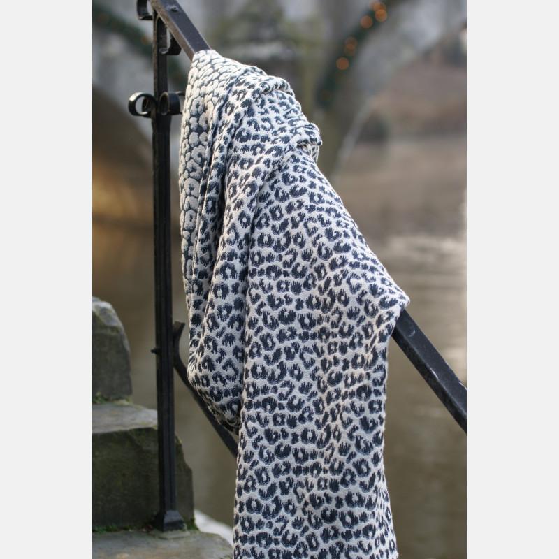 Yaro Pussycat Puffy Black Light-Grey Cashmere