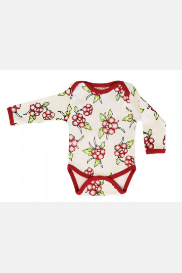 Baby Body Long Sleeve Flowers
