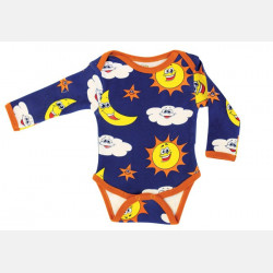 Baby Body Long Sleeve Sky