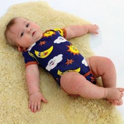 Baby Body Short Sleeve Sky