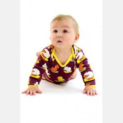 Baby Body Long Sleeve Animals
