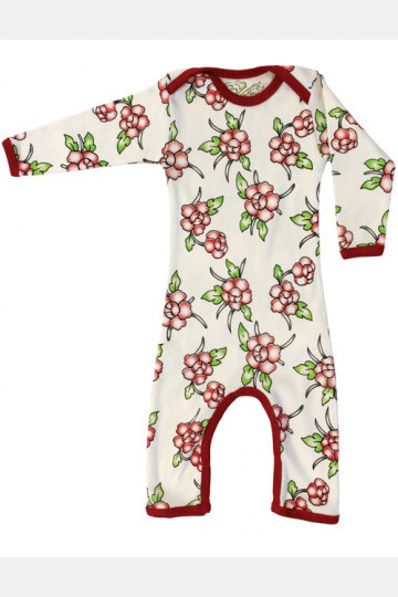 Jumpsuit Long Sleeve Flowers