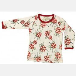 Shirt Long Sleeve Flowers