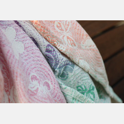 Yaro Woodland Duo Macarons Rainbow Tencel