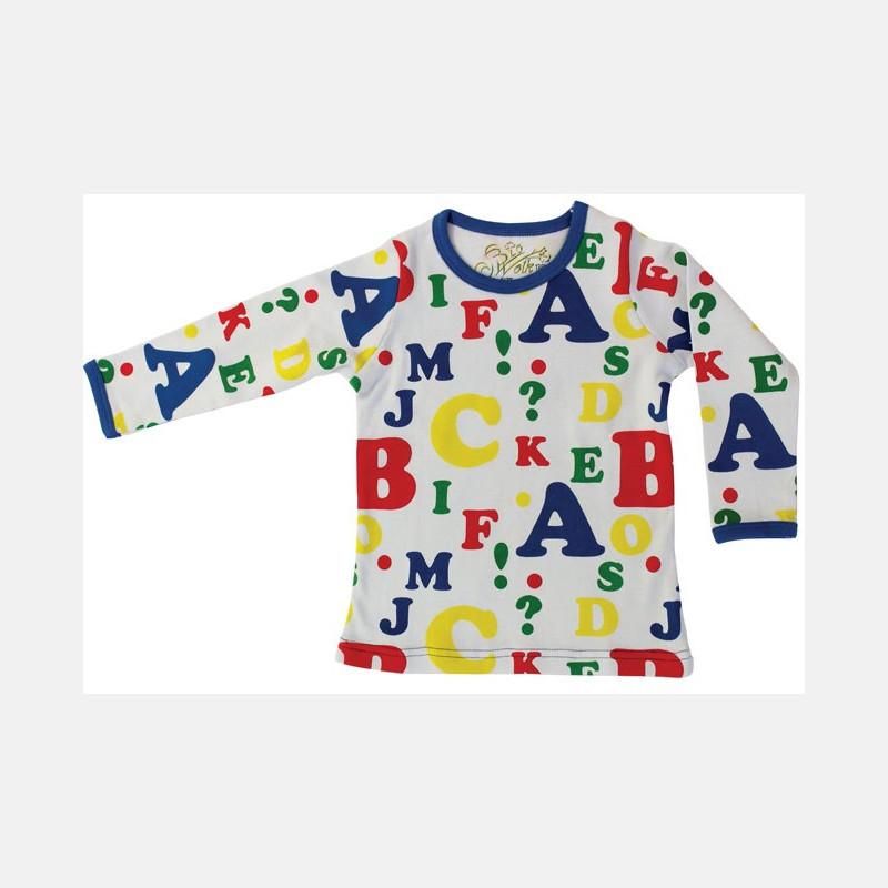 Shirt Long Sleeve Letters