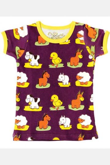 Shirt Short Sleeve Animals