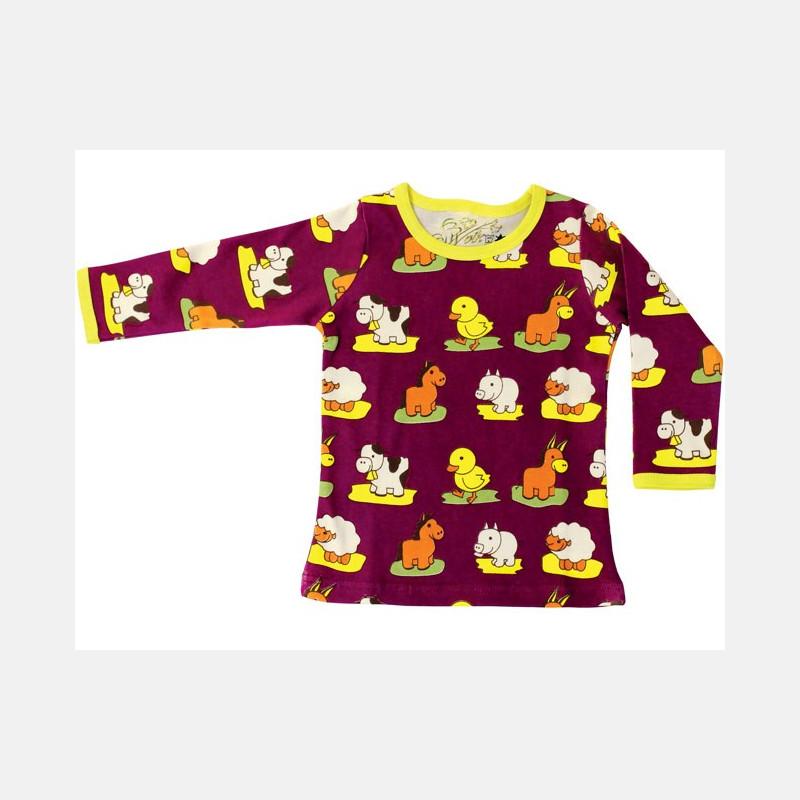 Shirt Long Sleeve Animals