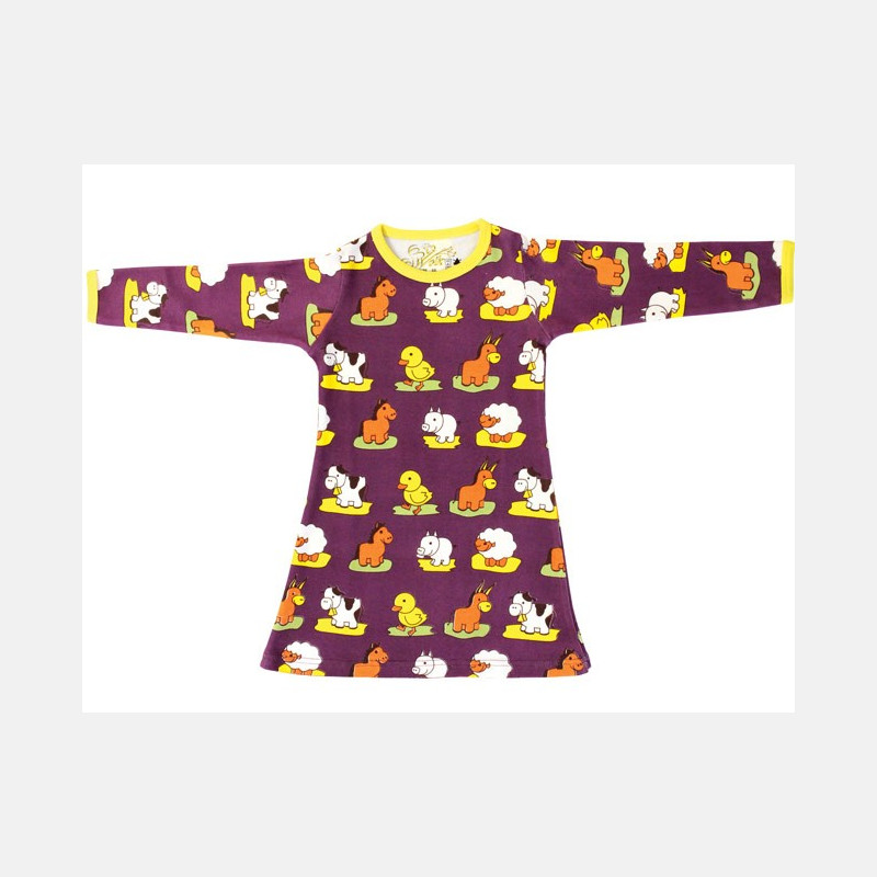 Dress Long Sleeve Animals