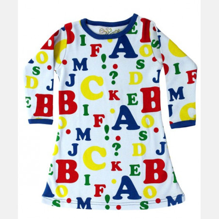Dress Long Sleeve Letters