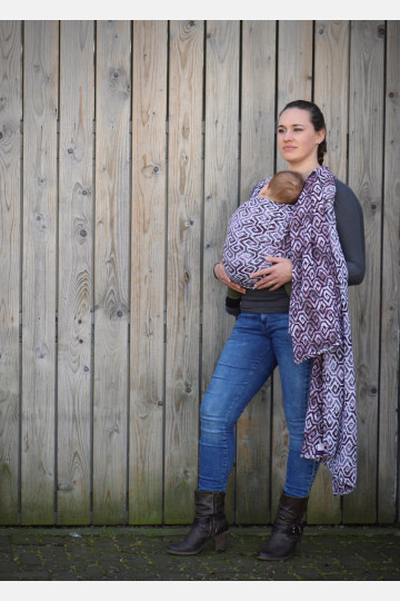 Yaro Xi Ultra Silver Wine Seacell  Ring Sling