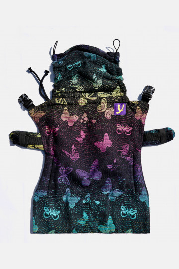 Yaro Flex Back Panel Woodland Duo Black Lights Rainbow