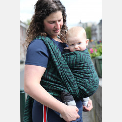 Yaro Tiger Black Green Ring Sling