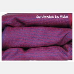 Storchenwiege Ring Sling Leo Violett