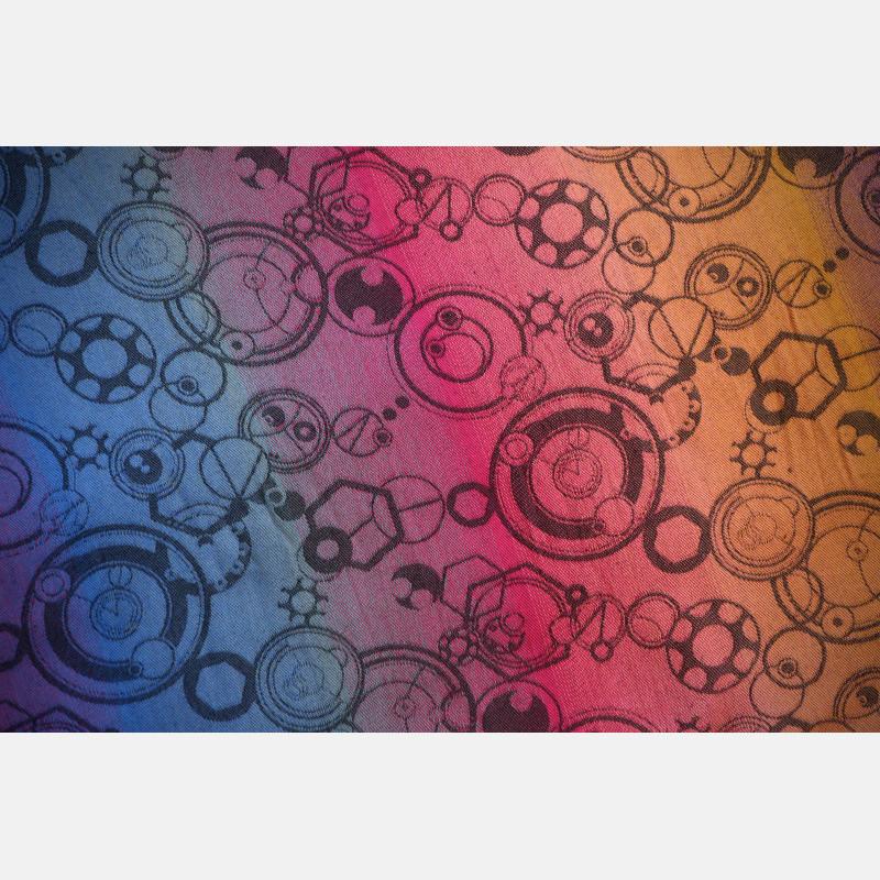 Yaro Quantum Marbella Grad Black Tencel Linen Ring Sling