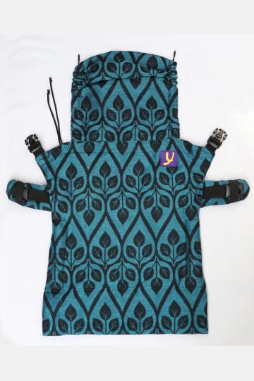 Yaro Flex Back Panel La Vita Blue-Black Linen