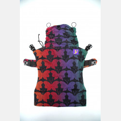Yaro Flex Back Panel Butterflies Contra Black Rainbow Confetti