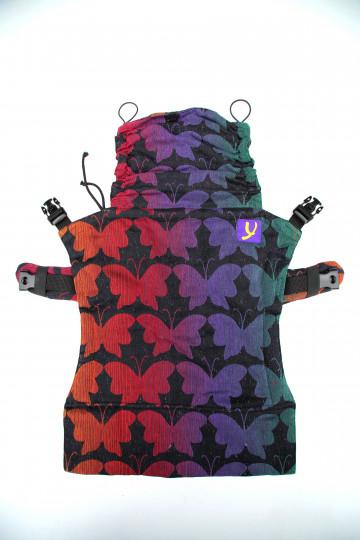 Yaro Flex Back Panel Butterflies Contra Black Rainbow Confetti