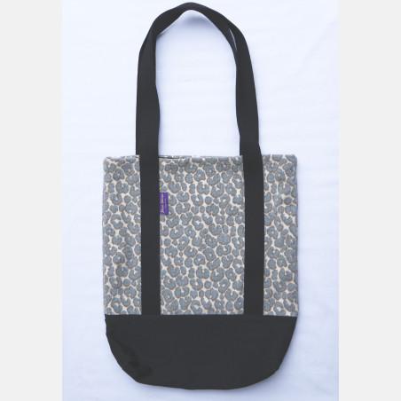Yaro Tote Bag - Pussycat Fluffy Silver Beige