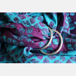Yaro Petals Ultra Purple Blue Bamboo Tencel  Ring Sling