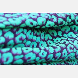 Yaro Pussycat Ultra Purple Green All Tencel  Ring Sling