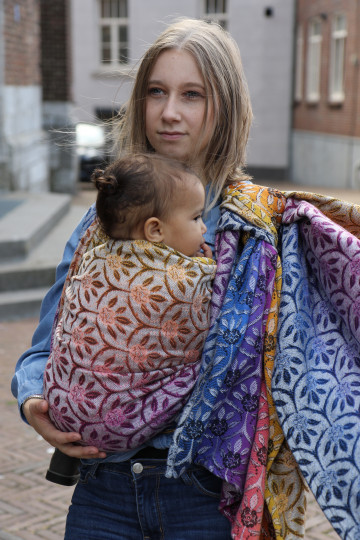 Yaro Bloom Duo Havana Grad BW Tencel Seacell Ring Sling