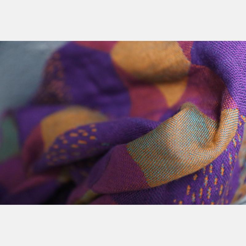 Yaro Prismic Ultra Purple Turkis Bronz Linen Modal