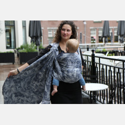 Yaro Chloe Duo Light-Grey Navy Confetti