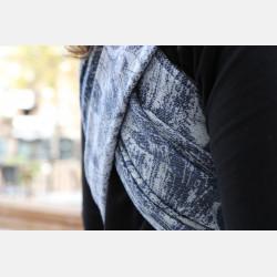 Yaro Chloe Duo Light-Grey Navy Confetti Tencel