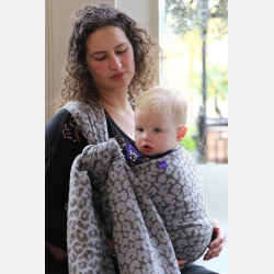 Yaro Pussycat Ultra Silver Natural Yak Ring Sling
