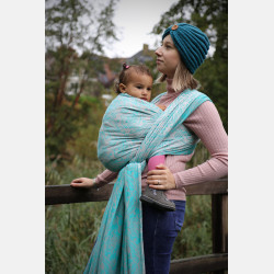 Yaro Elvish Duo Light-Grey Malachit Modal Ring Sling