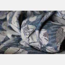 Yaro Waterflower Trio Silver Black Blue Tencel