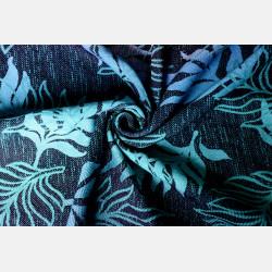 Yaro Oasis Duo Aqua Grad Emerald Navy Wool Ring Sling