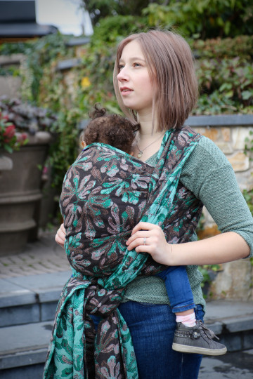 Yaro Oak Ultra Mocca Green Ring Sling