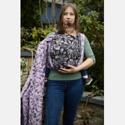 Yaro Oak Ultra Lilac Grey Wool Seacell Ring Sling
