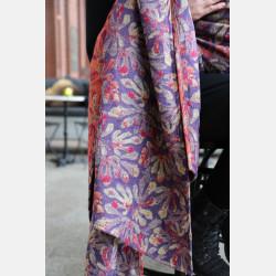 Yaro Oak Ultra Purple Straw Red Wool Ring Sling