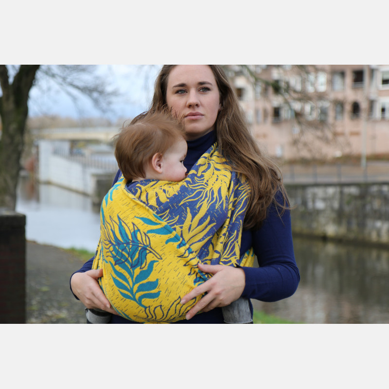 Yaro Oasis Puffy Yellow Turkis Seacell Ring Sling