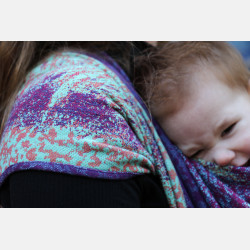Yaro Meteor Ultra Raspberry Blue Seacell Ring Sling