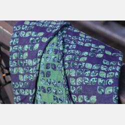 Yaro Petals Ultra Blue Violet Green Seacell