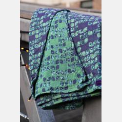 Yaro Petals Ultra Blue Violet Green Seacell Ring Sling