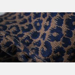 Yaro Pussycat Puffy Mocca Dark-Blue Wool Baby Camel Ring Sling